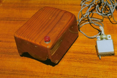 Wooden-mouse
