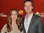 They kept that quiet! Edward Norton set to become first-time father as fiancée 'prepares to give birth any day now'