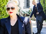 Leave it to Bieber! Gwen Stefani makes a rare fashion misstep in 'parachute' trousers favoured by Justin Bieber and Kanye West
