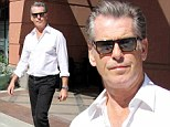 You can take the man out of Bond... Pierce Brosnan shows he is smoother than ever as he strolls around Beverly Hills