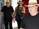 William Shatner and his wife Elizabeth are seen leaving Kailis Jewellery in Perth, Western Australia