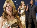 Looking Wonder(Woman)ful! Adrianne Palicki wows in stunning gold dress for G.I. Joe: Retaliation premiere