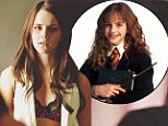 That certainly would of got Harry's attention! Emma Watson leaves good girl Hermione Granger behind stripping down to a sexy bra for The Bling Ring