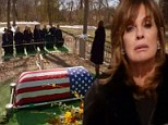 Larry Hagman and his alter ego J.R. Ewing are remembered as Dallas cast mourn at drama-filled screen funeral