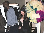 The perfect husband? Lamar Odom treats Khloe Kardashian to a dinner date... after lavishing her (and Kim) with bouquets of roses