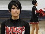 'Give me a P!': Paris Jackson shakes her pom-poms in the air as she settles into life on the cheerleading squad