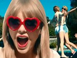 Girls just want to have fun! Taylor Swift enjoys the single life in new video for 22... but still makes a dig at ex Harry Styles