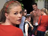 Sookie's back... and she's got a new man! Anna Paquin returns to True Blood set with shirtless British soap star Robert Kazinsky
