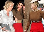 Duchess of Cornwall and Queen Rania