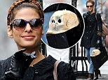 Rehearsing Hamlet? Eva Mendes buys a life-sized skull from kinky shop Kiki de Montparnasse
