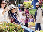 Daughter date! Real Housewives stars Bethenny Frankel and Kyle Richards take their little girls Bryn and Portia to the playground