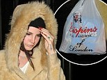 Someone's got the munchies! Lana Del Rey braves the cold as she goes on late night store-run to feed her cravings