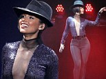 Alicia Keys Sold Out Concert at Staples Center in Los Angeles