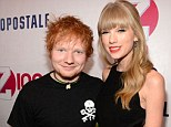 Mr Loverman: Ed Sheeran, pictured in December 2012, felt like a stud after he was romantically linked to Taylor Swift