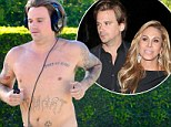 Adrienne Maloof's toyboy ex Sean Stewart makes a run for it after split as he goes on shirtless jog