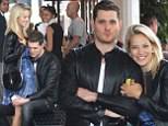 EXCLUSIVE: Michael Buble and his pregnant wife Luisana Lopilato seen at Bal Harbor Shopping Mall,