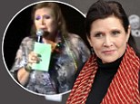 'I went off the rails': Carrie Fisher opens up about manic bi-polar episode which lead to bizarre cruise ship performance