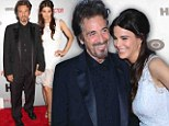 Old enough to be her Godfather! Al Pacino, 72, shows off much younger girlfriend Lucila Sola at Phil Spector premiere