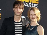 Co-stars and lovers: Bridgit Mendler said that dating a fellow actor such as her Good Luck Charlie co-star Shane Harper makes romance easier