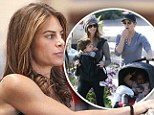 'Son of a b***h, this is hard': Biggest Loser trainer Jillian Michaels admits motherhood is wearing her down