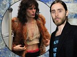 The 30 Seconds to Mars frontman dropped down to 116 pounds alongside his co-star Matthew McConaughey, who lost 38 pounds, to play a transsexual with AIDS and admitted it left him feeling very fragile.