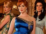 They're back! Christina Hendricks, January Jones and Jessica Paré smoulder in striking new Mad Men images ahead of season six