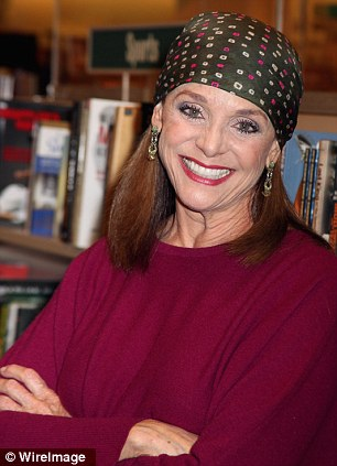 Actress Valerie Harper arrives to sign copies of her new book