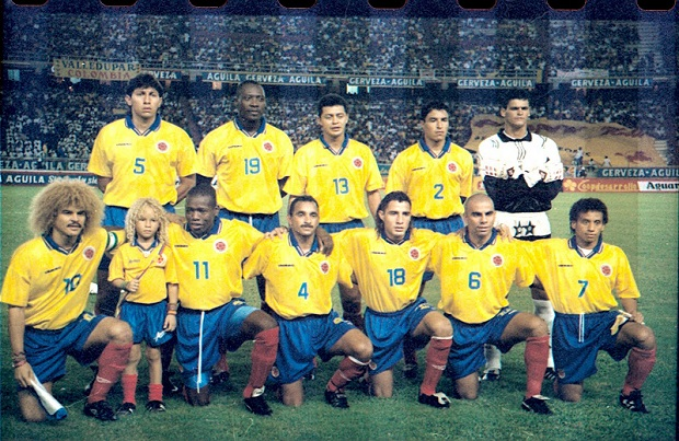 SELECCIÓN COLOMBIA  1994