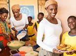 Lorraine pascale for Comic Relief