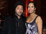 Happy couple: After vacating together in India, Padma Lakshmi brought Vikram Chatwal, who owns New York's Dream Hotel, to her annual Blossom Ball benefiting the Endometriosis Foundation of America on Monday night