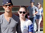 Team Jacob! Kristen Stewart enjoys another outing with Taylor Lautner (and she still hasn't visited R-Patz in Australia)