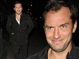 Jude Law leaving the Groucho