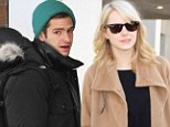 You'll be back together again soon! Emma Stone leaves boyfriend and Spider-Man costar Andrew Garfield behind as she jets into Los Angeles
