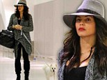Pregnant and chic: Jenna Dewan-Tatum arrived in New York looking fit for the runway
