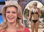'I struggle with it... I'm human': Miss America Mallory Hytes Hagan responds to 'fat jibes' after displaying a more curvier bikini body on the beach