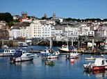 Offshore tax haven: St. Peter Port, Guernsey