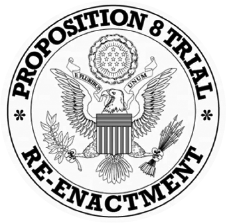 Proposition 8 Trial Re-Enactment Crest