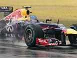 Pole position: Sebastian Vettel did it again