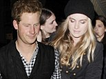 She shares his passion for a good night out: Prince Harry takes to the dancefloor with new girlfriend Cressida Bonas