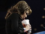 Comedian: Palin took sips from a large Big Gulp soda to poke fun at the proposed New York City ban on sugary drinks