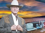 Larry Hagman's beachfront condo sells for $5million... as his sprawling $6.5million Ojai estate remains on the market