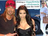 Looking great for 38! Eva Longoria celebrates her birthday with a family lunch... after Bret Michaels mixes her up with Kim Kardashian in tweet