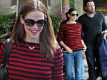From fitness to futomaki: Ben Affleck takes Jennifer Garner for sushi date after her strenuous morning workout