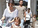 'A little lobster for lunch!': Kourtney Kardashian treats herself to seafood after Scott Disick mocks her post-baby body