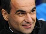Blues target: Wigan Athletic manager Roberto Martinez