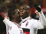 Normal guy: AC Milan's Mario Balotelli wishes he was not in the spotlight quite so much