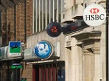 Hard sell: Banks and building societies have been in the firing line over selling products in branches across the UK