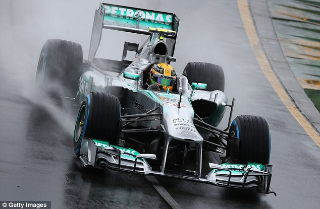 Rain pain: Hamilton and and Mercedes saw qualifying washed out