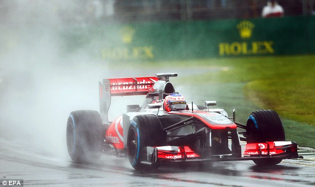 Slow progress: Jenson Button and McLaren have work to do
