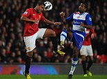 Farewell? Anderson (left) could leave Man United in the summer after failing to earn a regular starting position